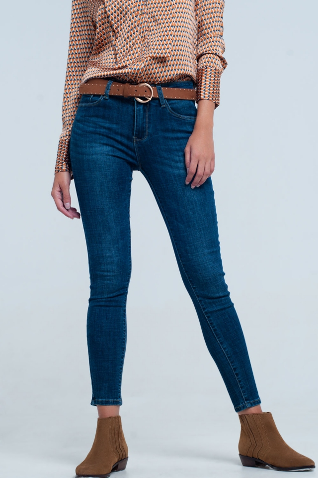 Jeans met push up effect