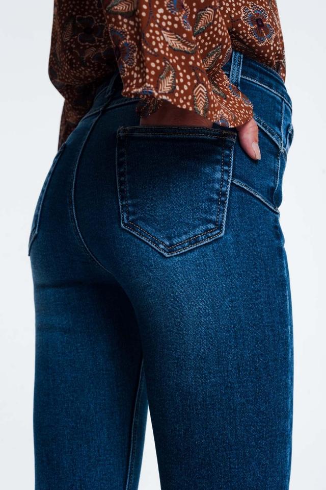 Regular pushup skinny jeans